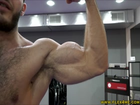 Super Ripped Veiny Biceps