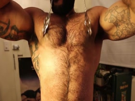 HARDCORE HAIRY MUSCLE