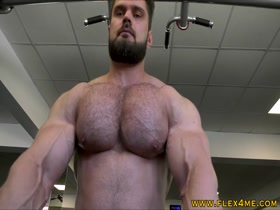 Super thick and Massive Pecs pumping up