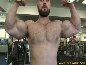 Massive Biceps Pumping
