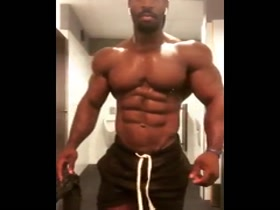 Almost 12 of the Biggest, Most Muscular, Pumped and Most Fantasy Fuckable Black Muscle Gods