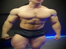 Young and massive German Bodybuilder