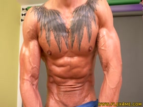 Tall and Inked Muscle Model Oils up