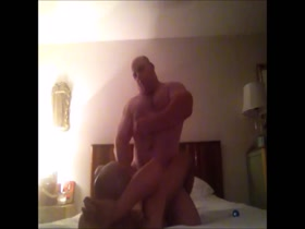 Fucked by muscle bull daddy