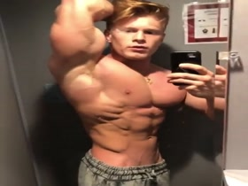 Hot Young and Blonde Muscle Pup - get in line