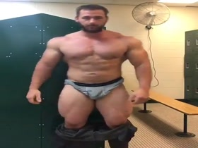hot hunk locker room
