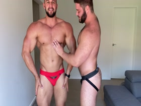 Sexy Muscle and Hunk Bear
