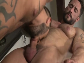 Hot muscle studs bareback fuck