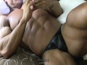 Alex Ortiz - muscle hunk at rest