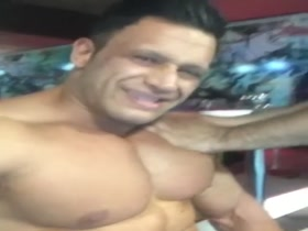 Who is this bodybuilder? Probably Iranian