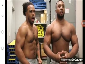 WWE New Day Pec Bounce