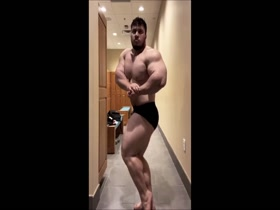 Incredibly massive muscle