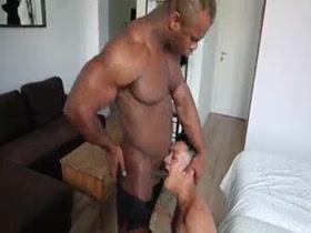 Black bodybuilder & Hot Latino Mate