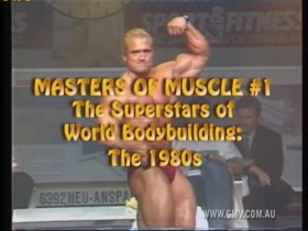 MASTERS OF MUSCLE - Superstars of World Bodybuilding of the 80's