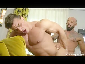 Muscles worshipped and fucked