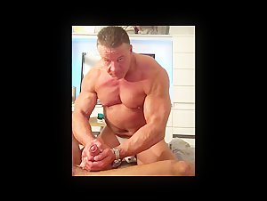 Muscle Worship and ass sitting session