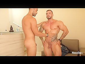 muscle strip and worship