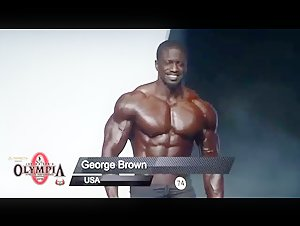 George Brown  2019 Men's Physique Olympia Posing Routine Men's Physique Olympia Posing Routine