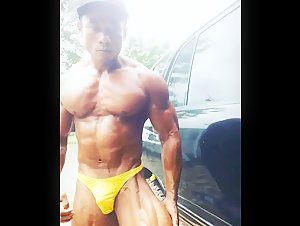 Shredded Indonesian Muscle