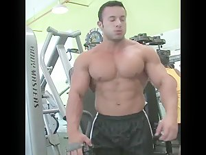 Anton Buttone aka HM in the gym