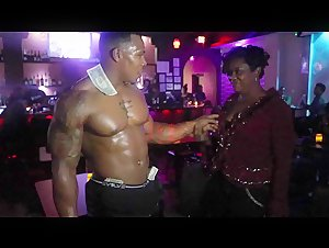 Black Bodybuilder Black Magic Bolo's Solo