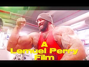 Edgar Guanipa In A Lemuel Perry Film..Hollywood's # 1  Bodybuilder Mega Hit Movie Of The Year..!